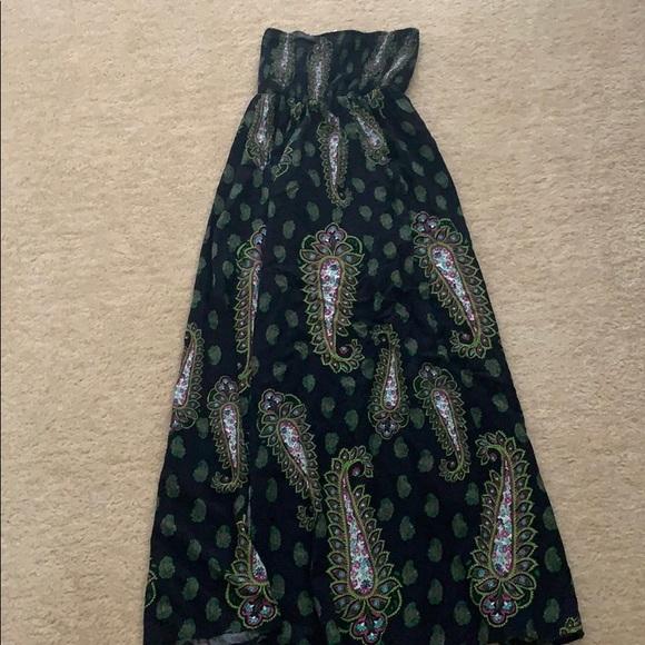 Xhilaration Dresses & Skirts - Paisley strapless maxi